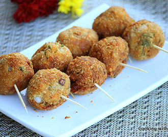 Crispy Fried Tuna Balls