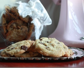 Himmelske amerikanske chocolate chip cookies!