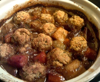 Autumn - Beef Stew With Dumplings
