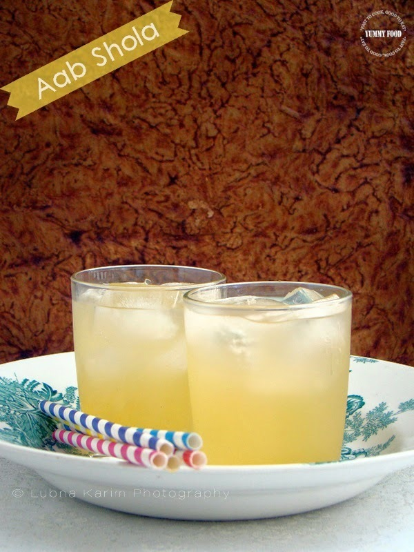 Aab Shola - Refreshing Summer Drink