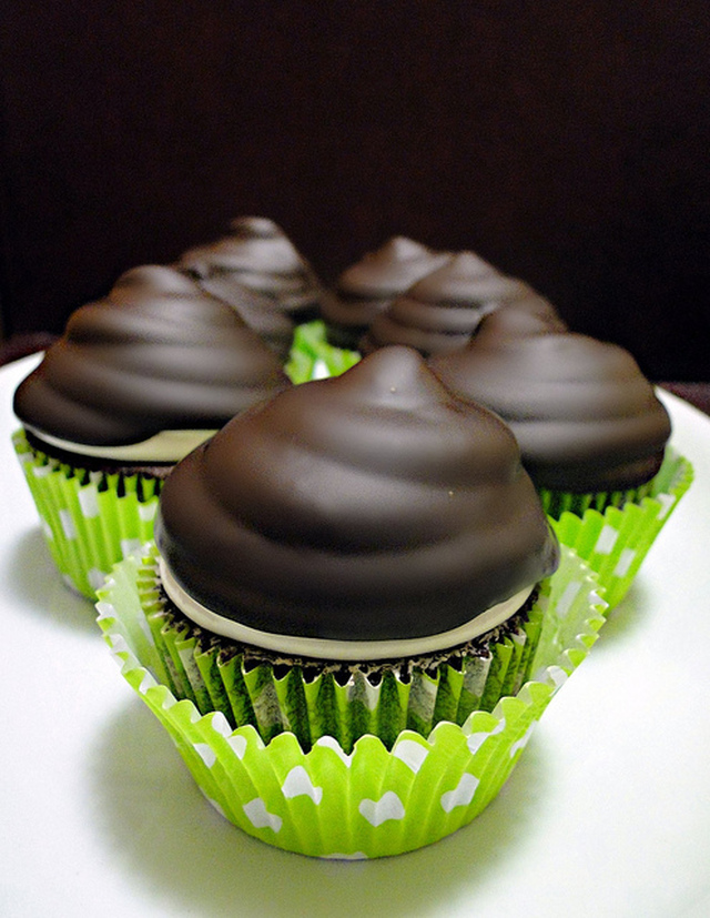 Devil´s Food Cupcakes de Martha Stewart