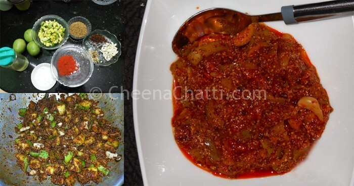 Avakaya pickle – Andhra style raw Mango Pickle