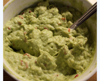 Guacamole med lime