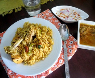 Chicken Dum Biryani 2 ~ Weekend Cooking