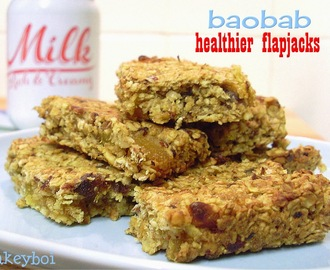 Healthier Flapjacks with added Baobab