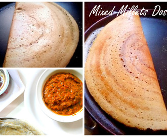 Mixed Millets Dosa