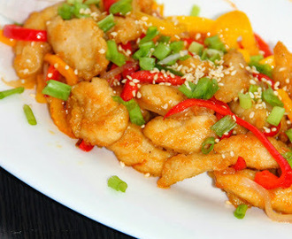 Sesame Honey Chilli Chicken/ Honey Chilli Chicken/ Chilli Chicken