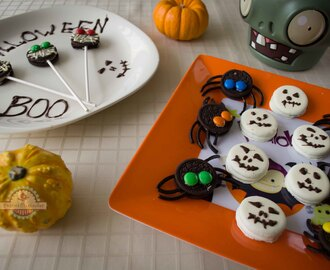 Ideas para Halloween con Galletas Oreo
