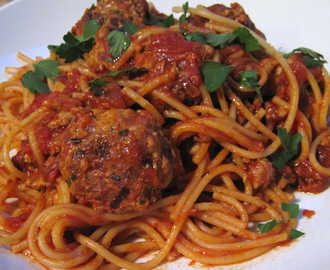 Super Quick and Tasty Meatballs for Pasta Sauce