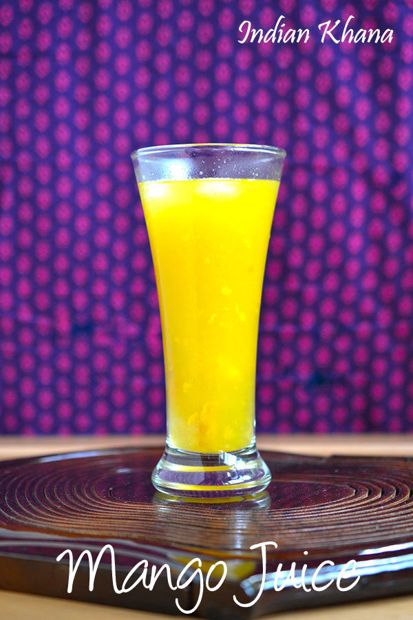 Mango Juice Recipe | Summer Drinks Recipes