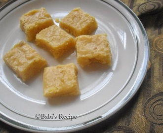 Seven cup Burfi | Indian Festive Sweet Recipe | Mother day special