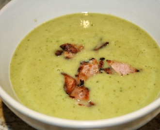 Broccoli, Courgette and Stilton Soup