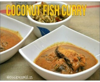 Green Coconut Fish Curry