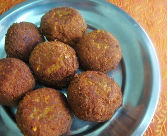 Mutton Kola Urundai – Fried Meat balls