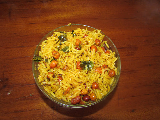 Lemon Rice( Rice cooked with Lemon Juice)