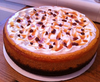 Oh-So-Yummy Spiced Pumpkin Cheesecake