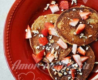 Hot cakes 100% integrales