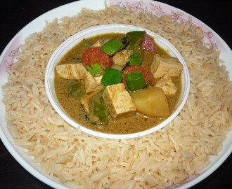 Thai Green Curry (Vegetarian) with Jasmine Rice