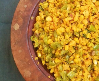 Beans parupu usili recipe \ How to make beans parupu usili, beans with lentils stir fry recipe