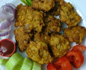 Quick And Easy Oats Fritters/Delicious Oats Pakora.