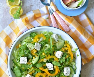 Fresh and quick Summer Salad : Is Summer a good time to diet ? :: Green Salad