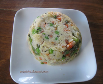 Rava Vegetable Upma