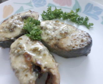 Grilled Rawas with Lemon Butter Sauce