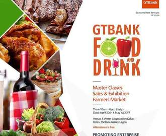 GTB Food & Drink Fair 2017! Meet The Chefs (Photos) - Attendance is FREE!!!