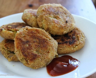 Chickpeas Patties/Chickpea cutlets