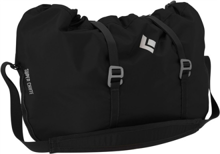 Black Diamond Super Chute Rope Bag Black 2018 Repsäckar