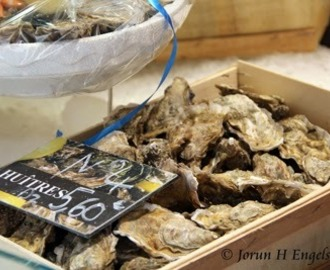 Østers naturell - Oysters