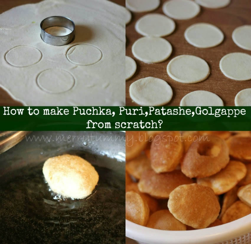Tuesday's Tip- How To Make Puri/Puchka/Golgappa At Home From Scratch?