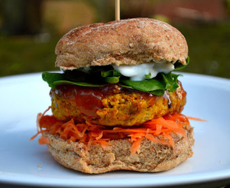 Spiced Turkey Burger