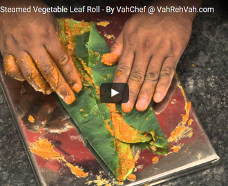 Aloo Vadi Recipe Video