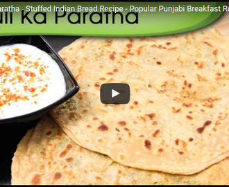 Mooli Ka Paratha Recipe Video
