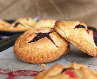 Apple and blackberry hand pies