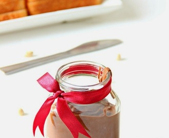 Home made Nutella/ Chocolate Peanut Spread