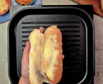 Hot dog a la plancha