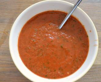 Tomato & Basil Soup {5:2 diet recipe}