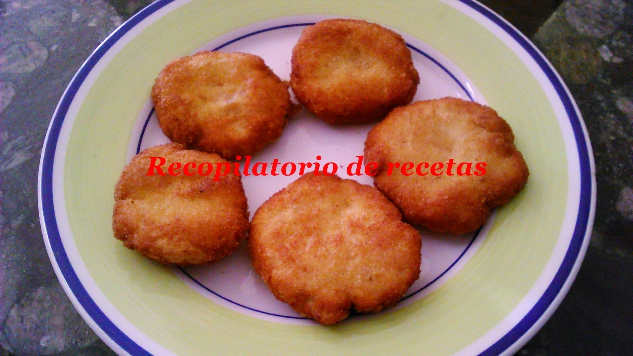 Nuggets de pollo con queso emmental en thermomix