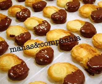 Palmiers e chocolate (isa)