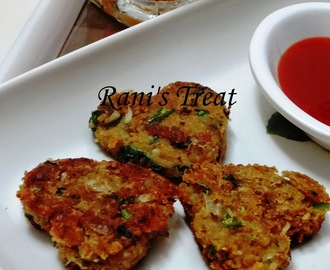 Sweet Potato Cutlet | Sweet Potato Patty | Sarkaraivalli Kizhangu Cutlet