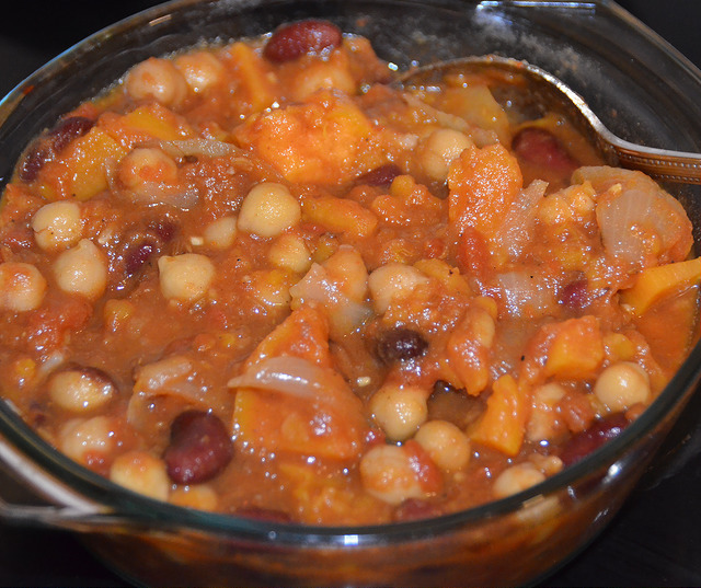 Spicy Mixed Bean Stew