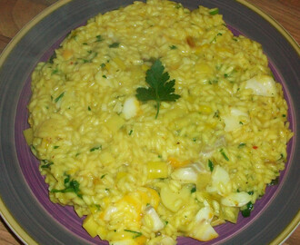 Nigella's Kedgeree Risotto