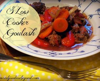 Slow Cooker Runder Goulash