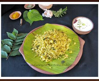 Vetrilai Poondu Sadham with Nelikkai Pachadi | Betel leaf Garlic Rice with Gooseberry in Yogurt Sauce