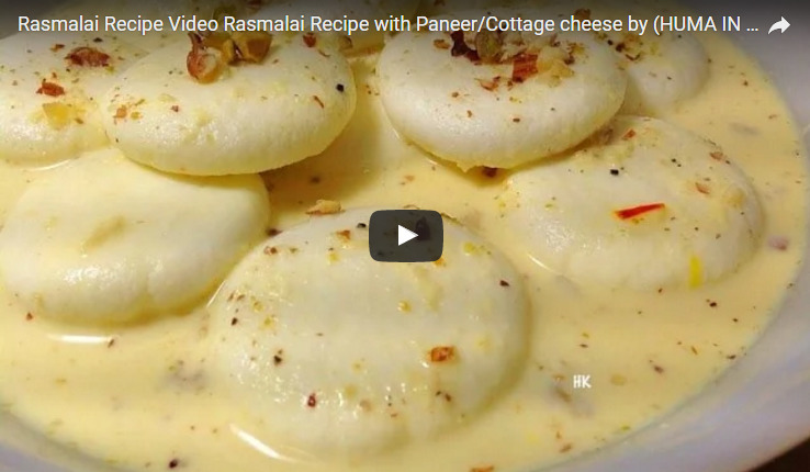 Rasmalai Recipe Video