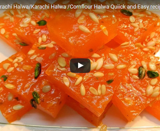 Bombay Karachi Halwa Recipe Video