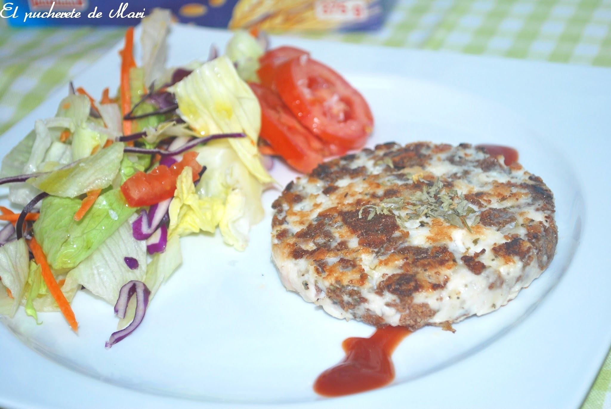HAMBURGUESAS DE POLLO ALL-BRAN