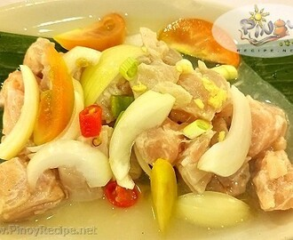 Kinilaw Na Tanigue Recipe